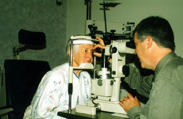 Eye Examination at Angeles Vision Clinic