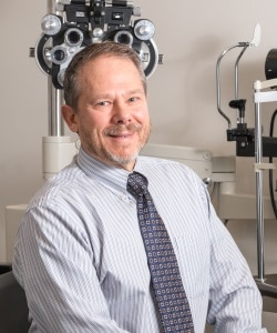 optometrist Dr. Eric Van Orman from Angeles Vision Clinic in Port Angeles, WA
